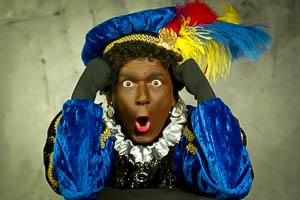 Druk, drukte zwarte Piet, racisme