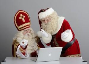 sinterklaas, kerstman, lichtje, FaceBook