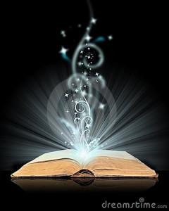 Magisch, boek,