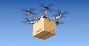 alternatief pakketdienst, drone
