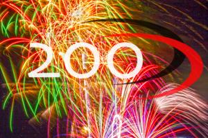 jubileum, 200 blogs, eigen benen